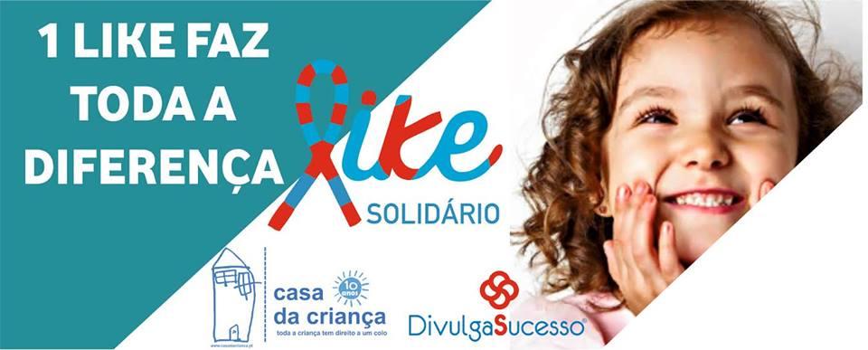 """Campanha """"Like Solidário"""""""